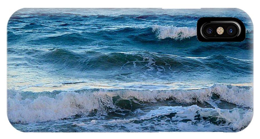 Sea IPhone X Case featuring the photograph An Unforgiving Sea by Ian MacDonald
