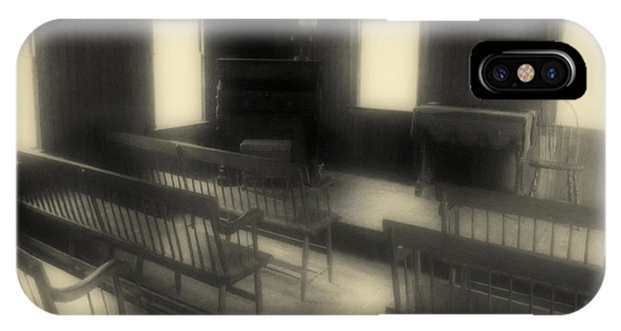 Benches IPhone X Case featuring the photograph Ancestor Worship by RC DeWinter