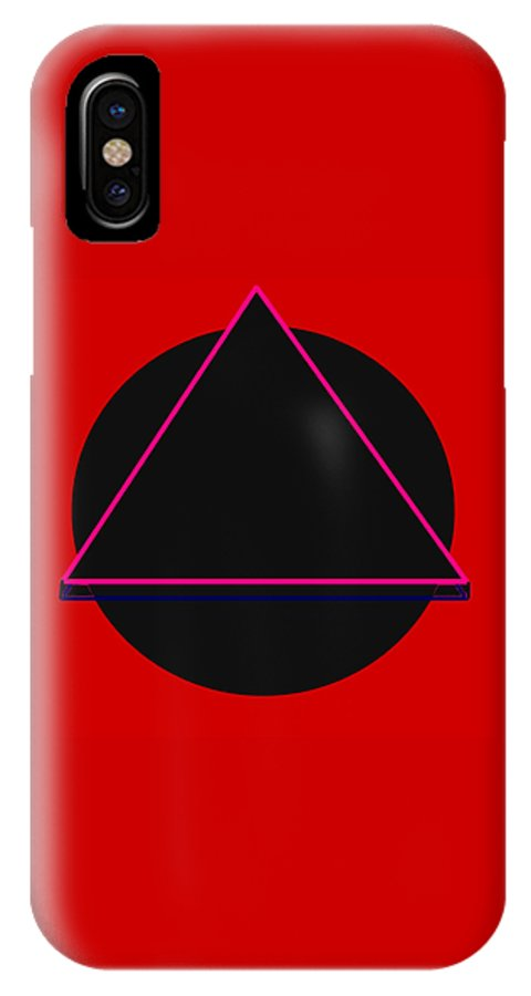 Social Justice Art IPhone X Case featuring the digital art And It Flowed by Pharris Art