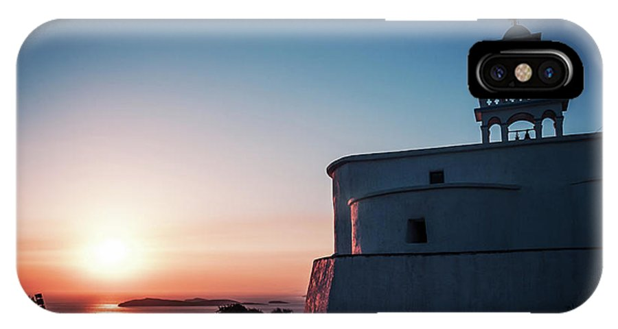 Andros IPhone X Case featuring the photograph Andros Island Sunset - Greece by Alexander Voss