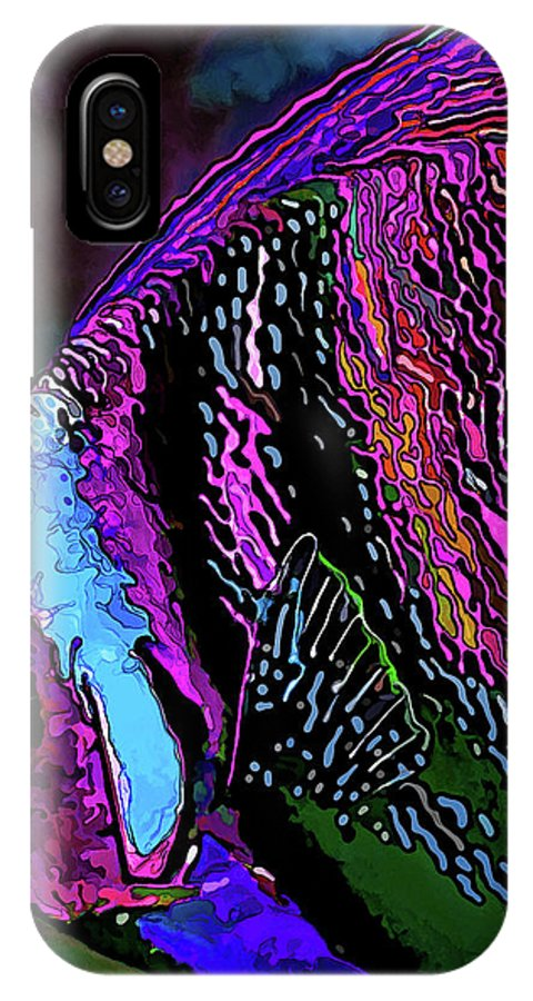 Nature IPhone X Case featuring the digital art Angel Face 1 by ABeautifulSky Photography by Bill Caldwell