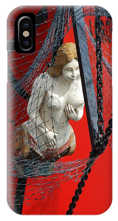 Ship IPhone X Case featuring the photograph Angel Of The Seas by Rob Hans