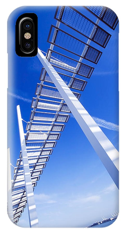America IPhone X Case featuring the photograph Angle View by Svetlana Sewell