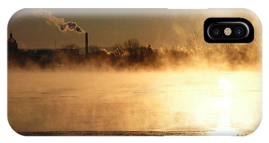 North America IPhone X Case featuring the photograph Another Cold Day by Juergen Weiss