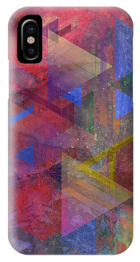 Another Time IPhone X Case featuring the digital art Another Time by John Beck