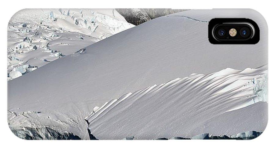 Landscape IPhone X Case featuring the photograph Antarctic Bliss by Chris Hanlon