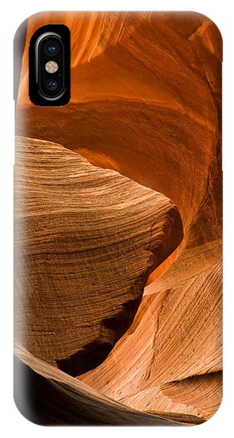 3scape Photos IPhone X Case featuring the photograph Antelope Canyon No 3 by Adam Romanowicz
