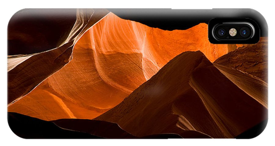 3scape Photos IPhone X Case featuring the photograph Antelope No 2 by Adam Romanowicz