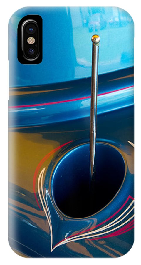 Car IPhone X Case featuring the photograph Antenna Details by Roger Mullenhour