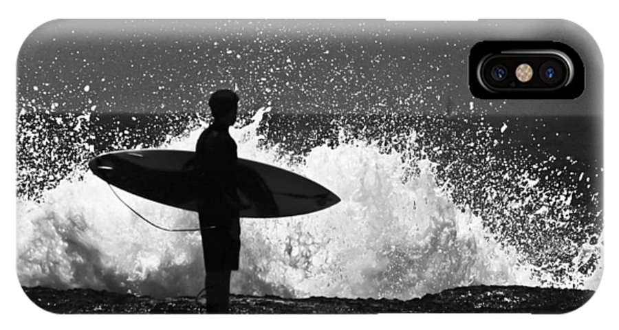 Surfer IPhone X Case featuring the photograph Anticipation by Sheila Smart Fine Art Photography