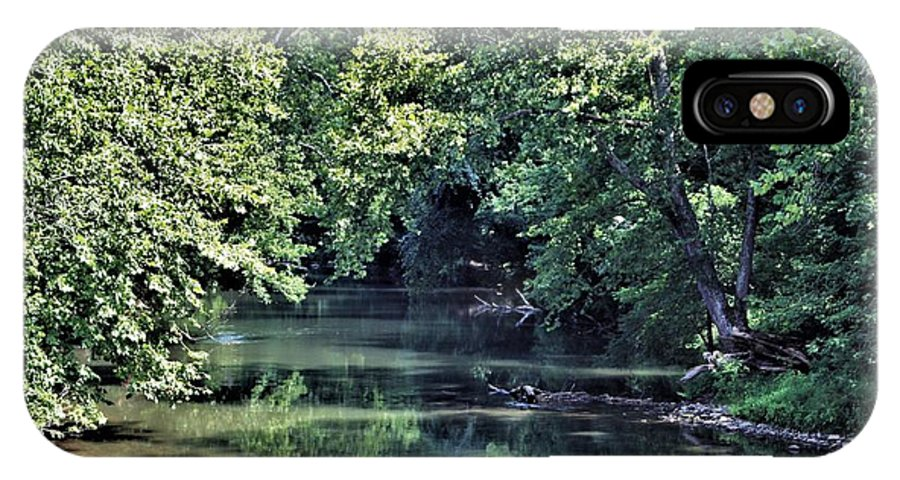 Antietam Creek IPhone X Case featuring the photograph Antietam Creek by Patti Whitten