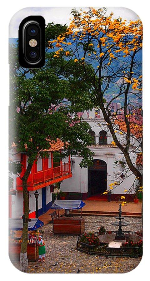 Antioquia IPhone X Case featuring the photograph Antioquia by Skip Hunt