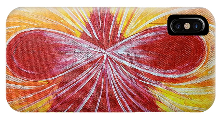 Aphrodite IPhone Case featuring the painting Aphrodite Essence by Tara Moorman