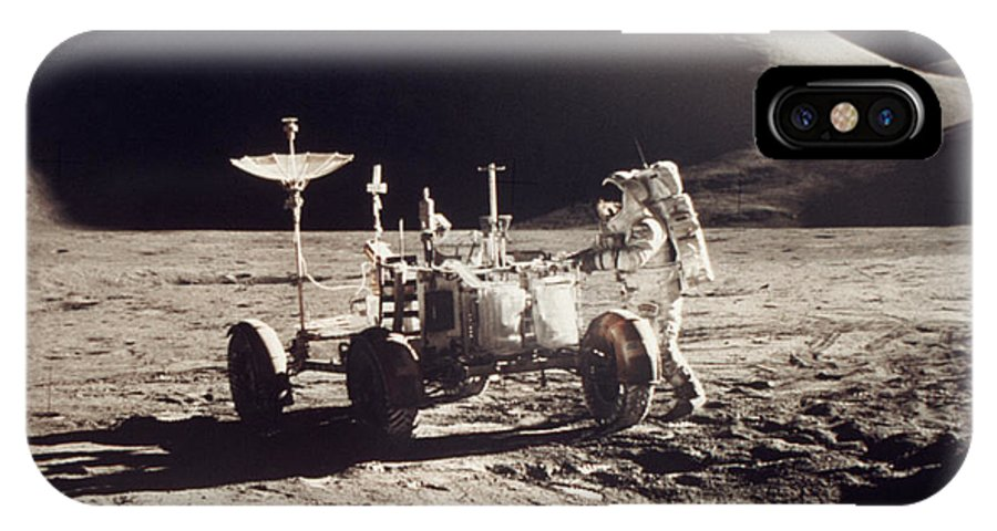 1971 IPhone X Case featuring the photograph Apollo 15, 1971 by Granger
