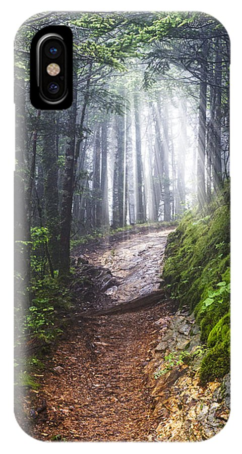Appalachia IPhone X Case featuring the photograph Appalachian Light by Debra and Dave Vanderlaan