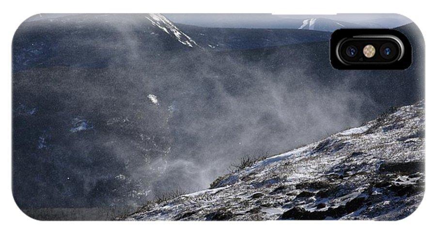 Franconia Ridge IPhone X Case featuring the photograph Appalachian Trail - Franconia Ridge-white Mountains New Hampshire by Erin Paul Donovan