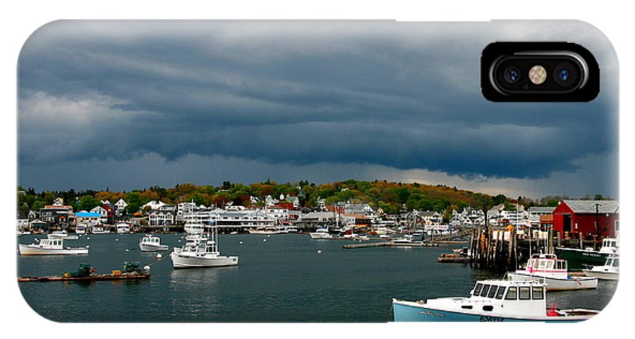 Maine IPhone X Case featuring the photograph Approaching Storm by Bill Keiran