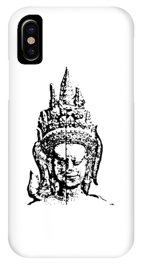 Apsara IPhone X Case featuring the photograph Apsara 1 by Brad Spencer