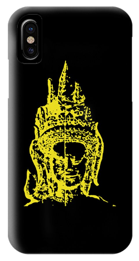 Apsara IPhone X Case featuring the photograph Apsara 2 by Brad Spencer