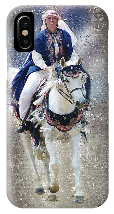 Arabian IPhone X Case featuring the digital art Arabian Nights by Tom Schmidt