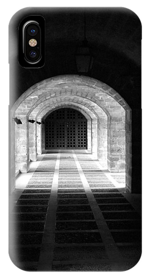 Landscape IPhone Case featuring the photograph Arched Hallway In Palma by Donna Corless