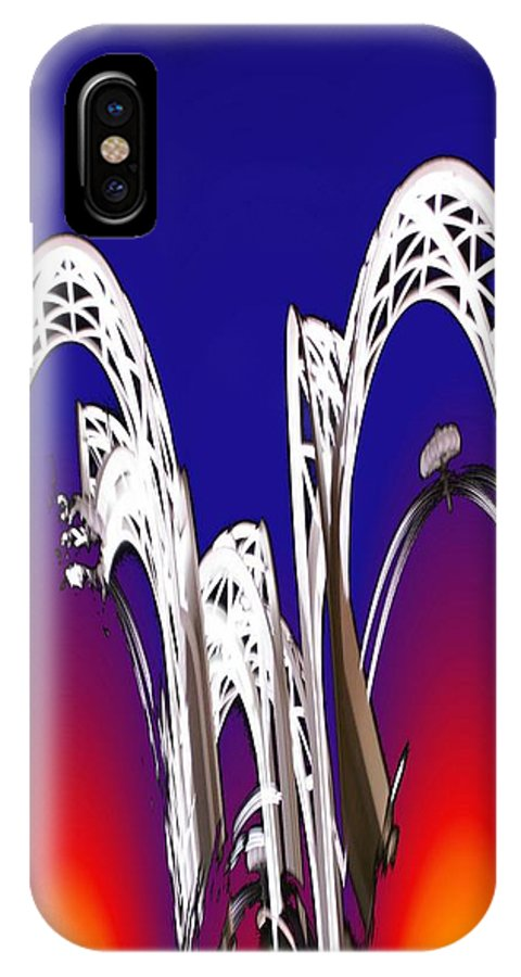 Seattle IPhone X Case featuring the photograph Arches 8 by Tim Allen
