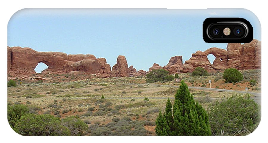 Arches National Park IPhone X Case featuring the photograph Arches National Park 21 by Dawn Amber Hood