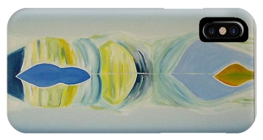 Landscape IPhone Case featuring the painting Arctic Landscape by Jarle Rosseland