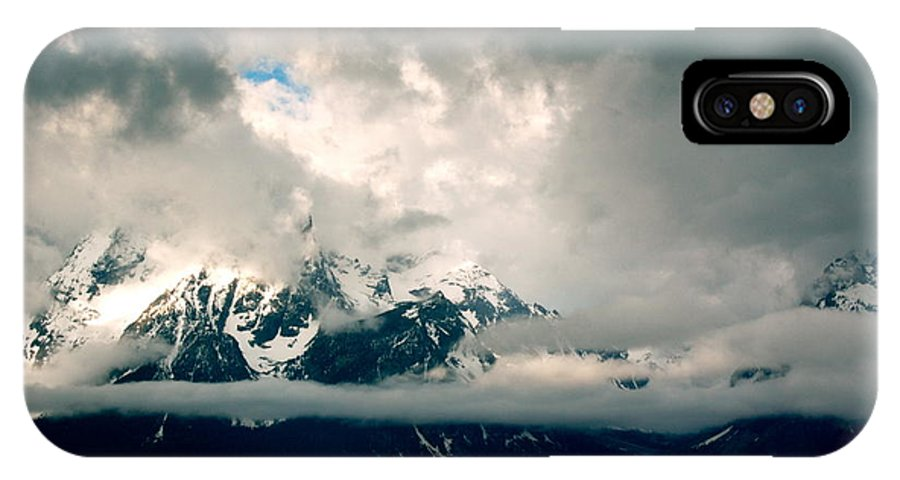 Landscape IPhone X Case featuring the photograph Are There Any Mountains by Amanda Kiplinger