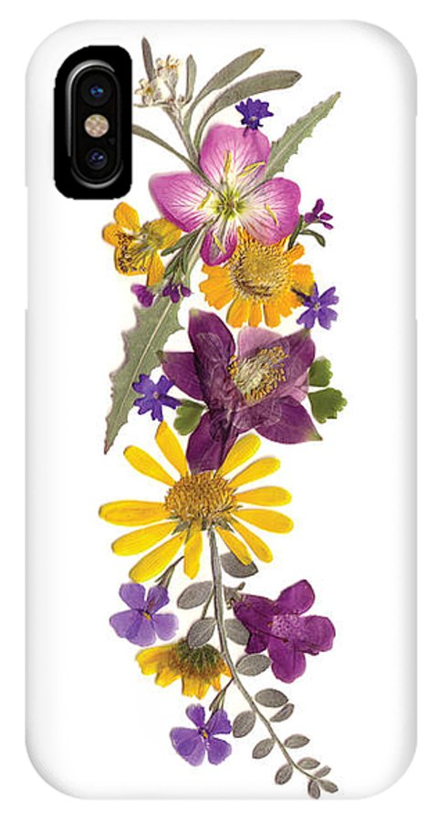 Arizona Flowers IPhone X Case featuring the photograph Arizona Desert by April Story