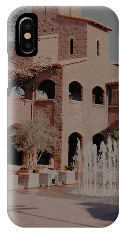 Arizona IPhone X / XS Case featuring the photograph Arizona Water by Rob Hans