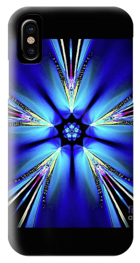 Arlette IPhone X / XS Case featuring the digital art Arlette by Raymel Garcia