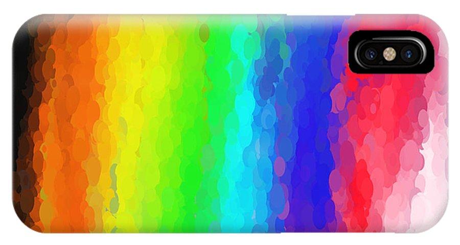 Art IPhone X Case featuring the digital art Art No.22.5 by Abdulaziz Butaiban