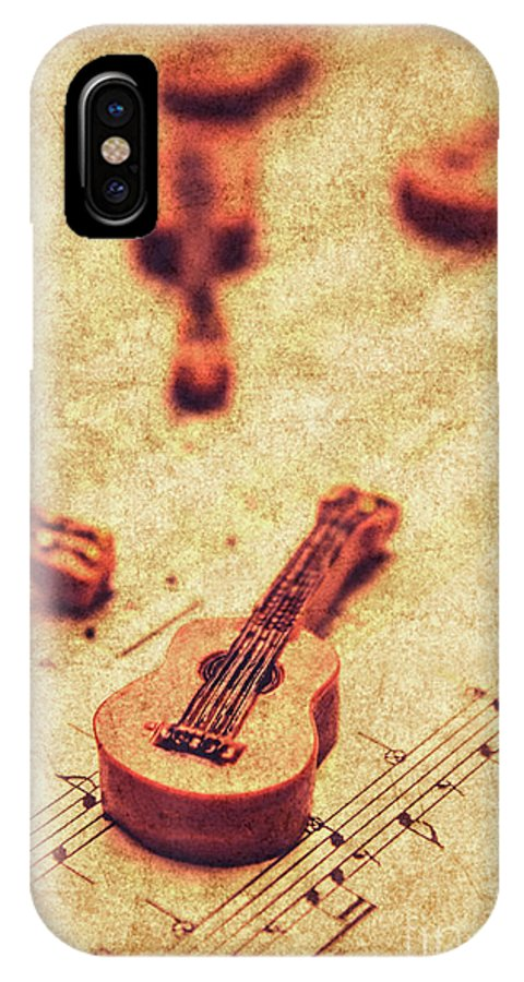 Vintage IPhone X Case featuring the photograph Art Of Classical Rock by Jorgo Photography - Wall Art Gallery