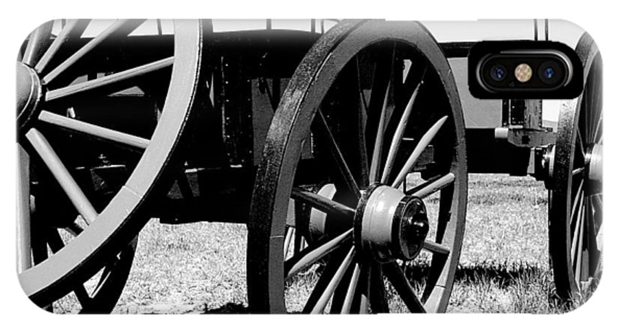 Wagon IPhone X Case featuring the photograph Artillery Wagon by Jean Macaluso