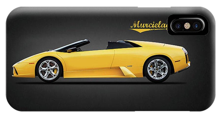 Lamborghini Murcielago IPhone X Case featuring the photograph The Lamborghini Murcielago by Mark Rogan