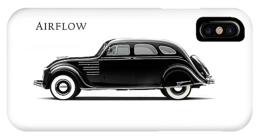 Chrysler Airflow IPhone X Case featuring the photograph Chrysler Airflow 1934 by Mark Rogan