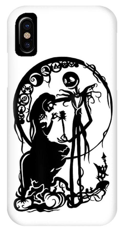 Nightmare Before Christmas Phone Case.A Nightmare Before Christmas Iphone X Case