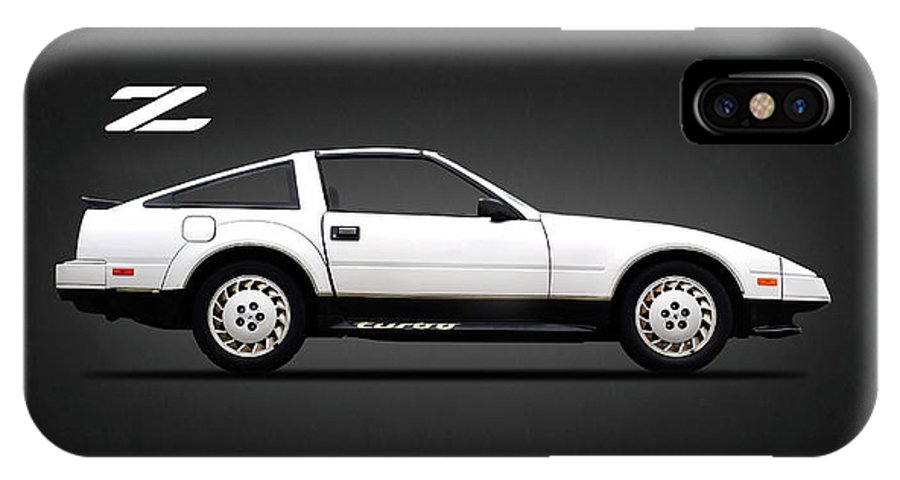 Nissan 300zx IPhone X Case featuring the photograph The 300 Zx by Mark Rogan