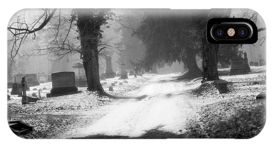 Photograph IPhone Case featuring the photograph Ashland Cemetery by Jean Macaluso