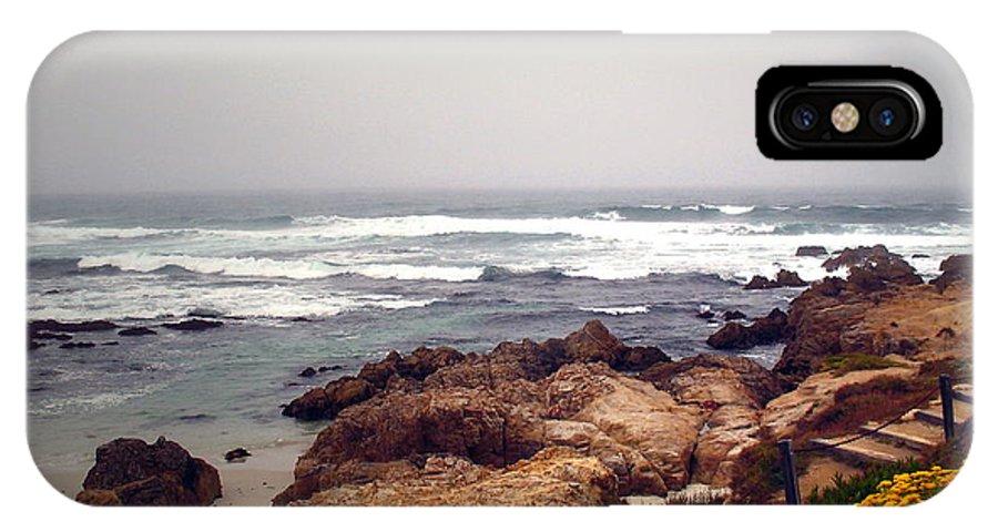 Asilomar IPhone X Case featuring the photograph Asilomar Beach Pacific Grove Ca Usa by Joyce Dickens