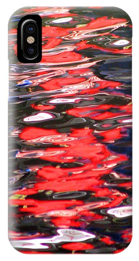 Red IPhone Case featuring the photograph At Peace by David Dunham