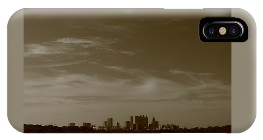 Atlanta IPhone X Case featuring the photograph Atl by Skyler Whitehead