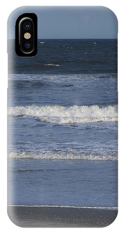 Atlantic IPhone X Case featuring the photograph Atlantic Ocean Gradient by Teresa Mucha