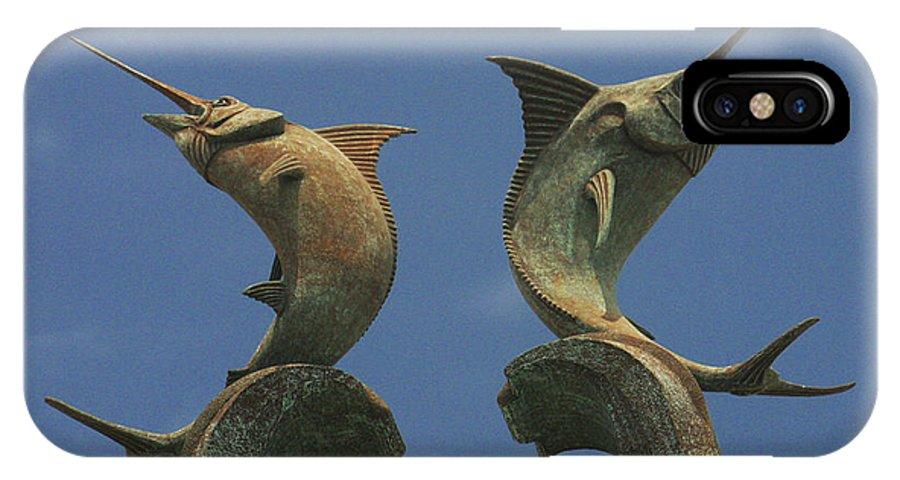 Atlantis Swordfish IPhone X Case featuring the photograph Atlantis Swordfish by Imagery-at- Work