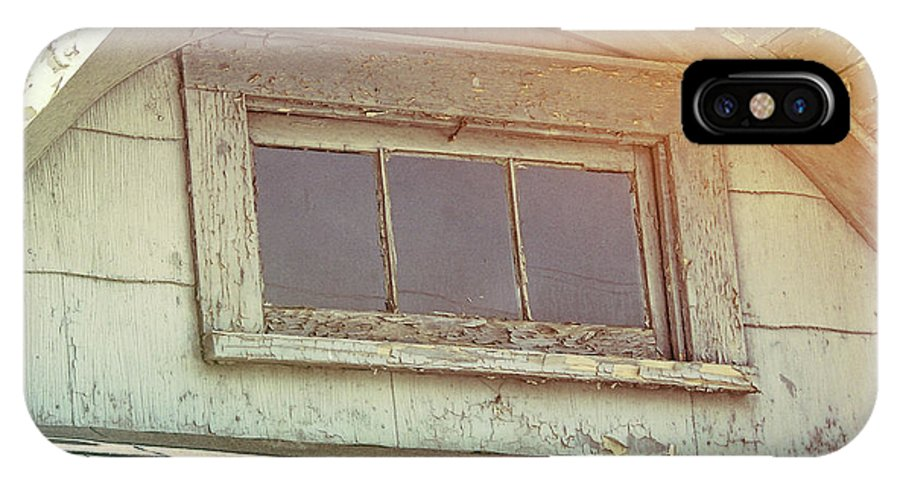 Window IPhone X Case featuring the photograph Attic View by JAMART Photography