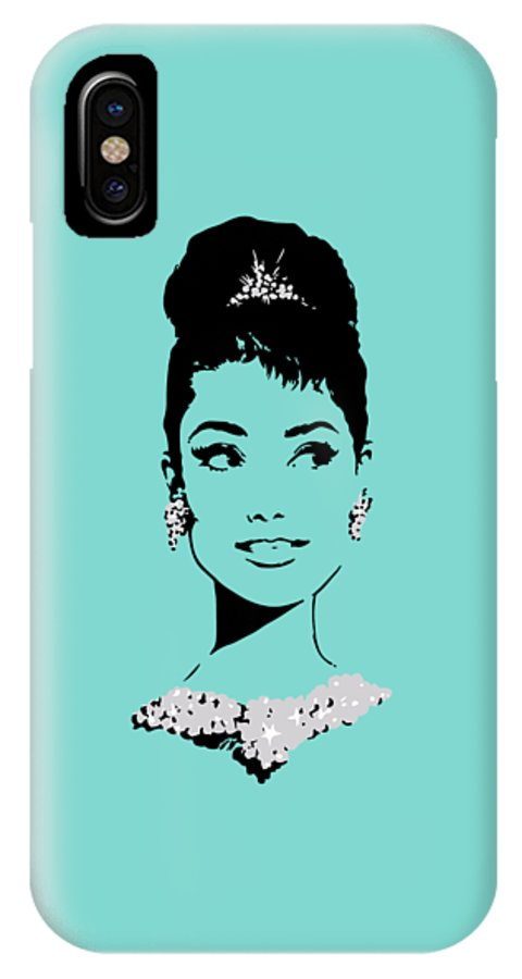 pretty nice a2afc 187f9 Audrey In Tiffany Blue IPhone X Case