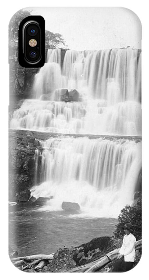 20th Century IPhone X Case featuring the photograph Australia: Waterfall by Granger