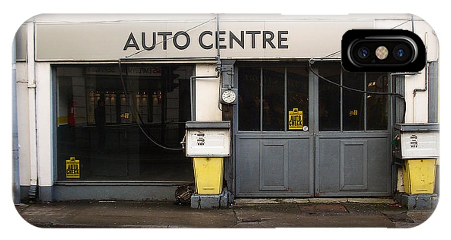 Auto IPhone X Case featuring the photograph Auto Centre by Tim Nyberg