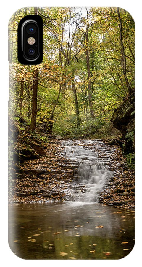 Autumn IPhone X Case featuring the photograph Autumn At Mill Creek by Travis Boyd